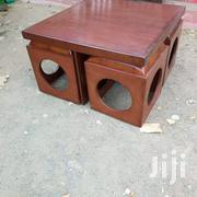 Stylish Modern Coffee Table With Its 4 Stools   Furniture for sale in Nairobi, Ngara