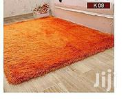 Generic Fluffy Carpets - Soft And Comfortable - Orange 5*8   Home Accessories for sale in Kisumu, Central Kisumu