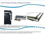 Bulk Printing & Photocopy | Other Services for sale in Kiambu, Uthiru