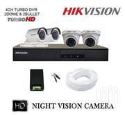 Hikvision 720P 4 Channel Turbo HD CCTV Cameras Kit W/500GB Hard Drive | Security & Surveillance for sale in Nairobi, Nairobi Central