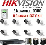 8 Hikvision 1080p CCTV Cameras Complete Kit Sales Without Installation | Security & Surveillance for sale in Nairobi, Nairobi Central