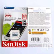 Sandisk 32GB 80MB C10 Ultra Microsd UHS-I Card Without Adapter | Accessories for Mobile Phones & Tablets for sale in Nairobi, Nairobi Central