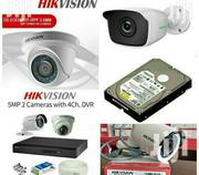 4 Cctv Camera Full Set | Cameras, Video Cameras & Accessories for sale in Nairobi, Nairobi Central