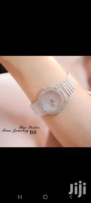 Quality A Silver Rhinestone Watch | Watches for sale in Mombasa, Mji Wa Kale/Makadara