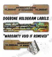 30 X DOGBONE / DUMBELL Hologram Numbered Security Stickers / Labels | Arts & Crafts for sale in Nairobi, Nairobi Central