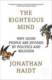 The Righteous Mind -jonathan Haidt | Books & Games for sale in Nairobi, Nairobi Central