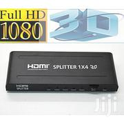 HDMI Splitter 1 X 4 - Black | Computer Accessories  for sale in Nairobi, Nairobi Central