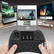 Smart TV Wireless Keyboard With Mouse Touchpad Combos - Black | Computer Accessories  for sale in Nairobi, Nairobi Central