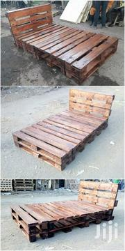 Stylish Modern Quality 5by6 Pallet Bed   Furniture for sale in Nairobi, Ngara