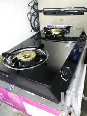 Double Doors Table Top Cooker With Glass Top. We Deliver