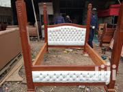 Solid Wood Queen Size Bed | Furniture for sale in Nairobi, Nairobi West