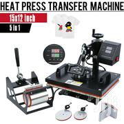 5 In 1 Heat Press Transfer Sublimation Machine | Printing Equipment for sale in Nairobi, Nairobi Central