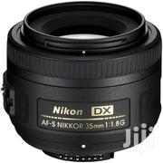 Nikon AF-S DX NIKKOR 35mm F/1.8G Lens | Cameras, Video Cameras & Accessories for sale in Nairobi, Nairobi Central
