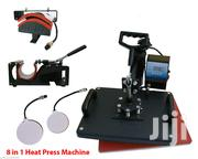 5 In 1 Heat Press Machine Digital Transfer Sublimation Machine | Printing Equipment for sale in Nairobi, Nairobi Central