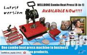Heatpress Machine - 8 In 1 | Printing Equipment for sale in Nairobi, Nairobi Central