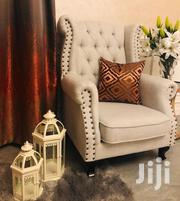 Modern And Unique Buttoned Wingback Chairs | Furniture for sale in Nairobi, Ngara