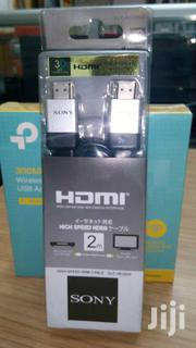 HDMI TO HDMI CABLE - HIGH SPEED | TV & DVD Equipment for sale in Nairobi, Nairobi Central