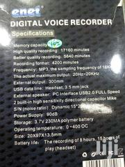 Enet Digital Voice Recorder | Audio & Music Equipment for sale in Nairobi, Nairobi Central