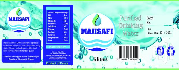 Water Labels Sticker Printing Services