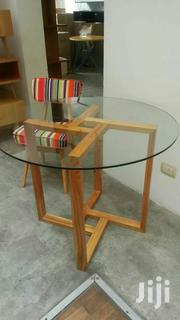 Wooden Glass Coffee Table | Furniture for sale in Nairobi, Kasarani