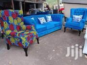 3 Seater Chesterfield Seat Plus Two Wingback Chairs | Furniture for sale in Nairobi, Ngara