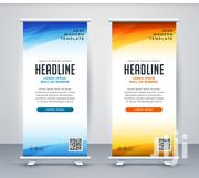 Strong Stand Roll Up Banner | Manufacturing Services for sale in Nairobi, Nairobi Central