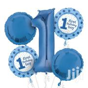 First Birthday Boy 5 Pack Foil Ballon | Babies & Kids Accessories for sale in Nairobi, Nairobi Central