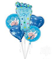 Its A Boy 5 Pack Foil Ballon | Babies & Kids Accessories for sale in Nairobi, Nairobi Central