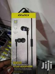 Awei Es500i Super Stereo Headsets With Mic In-ear Bass Headphone Earph | Accessories for Mobile Phones & Tablets for sale in Nairobi, Nairobi Central