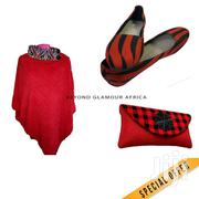 Poncho + Flats + Clutch Combo | Bags for sale in Nairobi, Nairobi Central