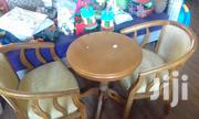 A Set Of 3, Two Chairs N One Round Table | Furniture for sale in Mombasa, Mkomani