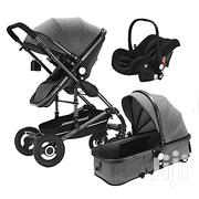 3 in 1 Luxury Baby Stroller Bassinet Car Seat Pram Foldable | Prams & Strollers for sale in Nairobi, Nairobi Central