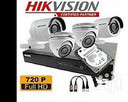 Hikvision 4 Channel Complete CCTV Kit- Turbo HD DVR With 4 Dome HD | Cameras, Video Cameras & Accessories for sale in Uasin Gishu, Kimumu
