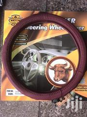 Genuine Leather Steering Cover | Vehicle Parts & Accessories for sale in Nairobi, Nairobi Central