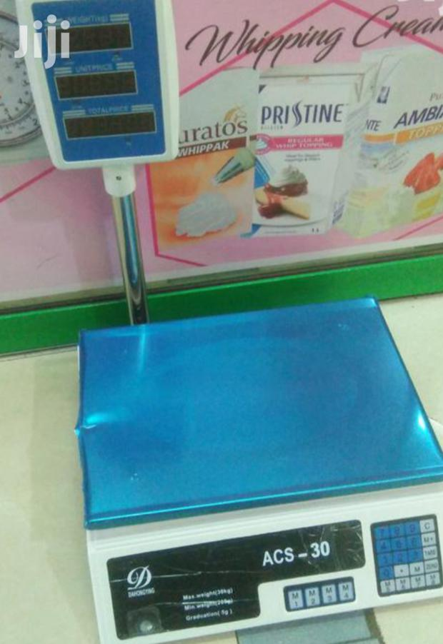 Acs-30 Butchery Weighing Scales