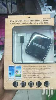 All In One Card Reader 3 Ports Micro USB 2.0 HUB Connection Kit   Computer Accessories  for sale in Nairobi, Nairobi Central