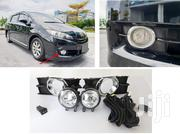Toyota Wish (New Shape): Complete Fog Lamp Set With Chrome Finish | Vehicle Parts & Accessories for sale in Nairobi, Nairobi Central