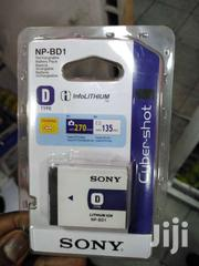 SONY NP-BD1 Digital Camera Battery Cybershot NP BD1 FD1 T Series D Typ | Computer Accessories  for sale in Nairobi, Nairobi Central
