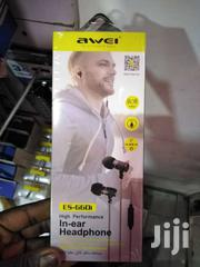 AWEI ES-660I Metal 3.5mm Jack In-ear Noise Isolating Mic Super Bass Ea | Accessories for Mobile Phones & Tablets for sale in Nairobi, Nairobi Central