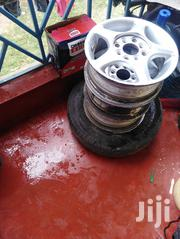Universal 13 Inches Sports Rims Set One With Good Tyre   Vehicle Parts & Accessories for sale in Kajiado, Ongata Rongai