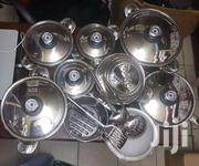 Heavy Stainless Steel Sufurias + Free Serving Spoons | Kitchen & Dining for sale in Kisumu, Chemelil