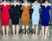 V-Shape Neck Straight Fitting Dress | Clothing for sale in Nairobi, Nairobi Central