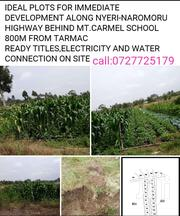 Selling Plots and Lands | Land & Plots For Sale for sale in Nyeri, Naromoru Kiamathaga
