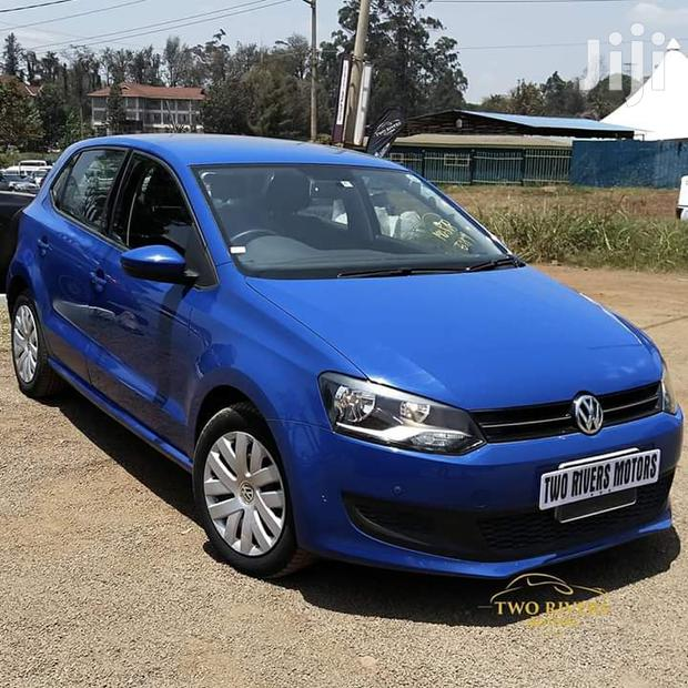 Archive: Volkswagen Polo 2012 Blue