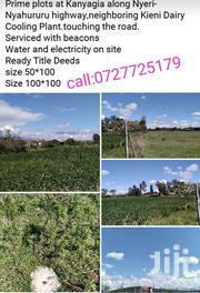 Selling of Plots | Land & Plots For Sale for sale in Nyeri, Mweiga