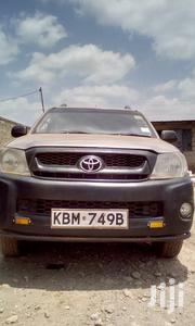 Toyota Hilux 2010 2.5 D-4D 4X4 SRX Brown | Cars for sale in Kiambu, Juja