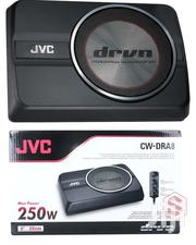 """Compact Powered Subwoofer: 250 Watts And An 8"""" Sub-jvc CW-DRA8 