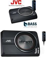 "JVC CW-DRA8 - 250 Watts 8"" Active Under Seat Subwoofer 
