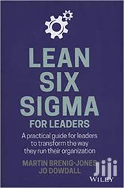 Lean Six Sigma For Leaders - Martin Brenig | Books & Games for sale in Nairobi, Nairobi Central