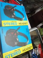 Streo Headphones With Mike Wired | Accessories for Mobile Phones & Tablets for sale in Nairobi, Nairobi Central